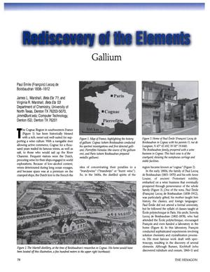 Rediscovery of the Elements: Gallium