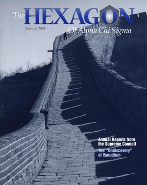 The Hexagon, Volume 95, Number 2, Summer 2004