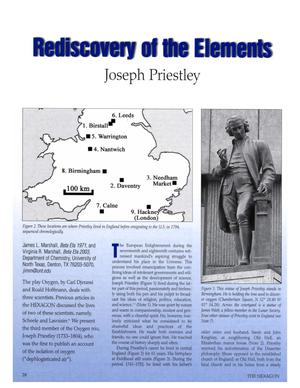 Rediscovery of the Elements: Joseph Priestley