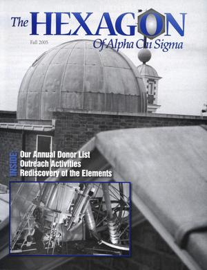 The Hexagon, Volume 96, Number 3, Fall 2005