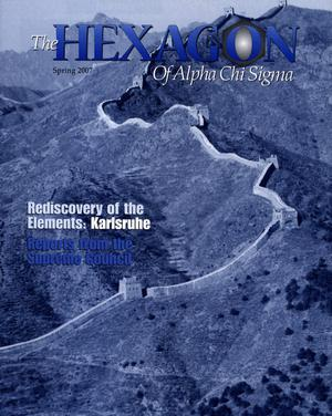The Hexagon, Volume 98, Number 1, Spring 2007