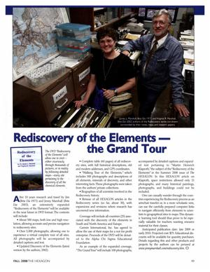 Rediscovery of the Elements: The Grand Tour