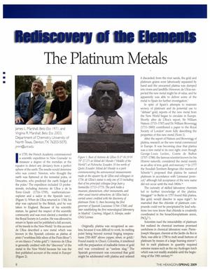 Rediscovery of the Elements: The Platinum Metals