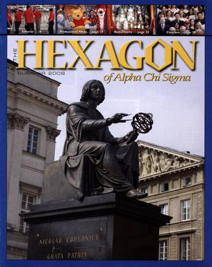 The Hexagon, Volume 100, Number 2, Summer 2009