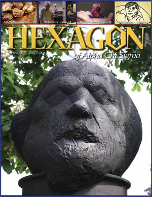 Primary view of object titled 'The Hexagon, Volume 101, Number 4, Winter 2010'.
