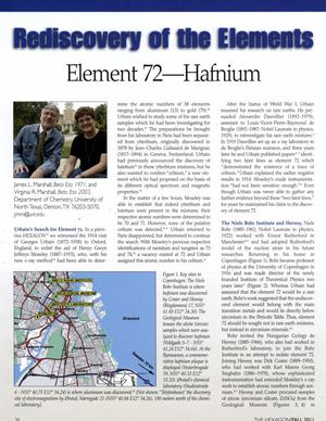 Rediscovery of the Elements: Hafnium