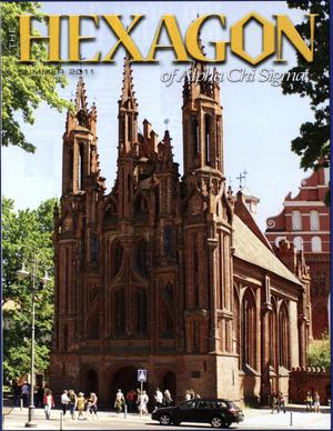 The Hexagon, Volume 102, Number 2, Summer 2011