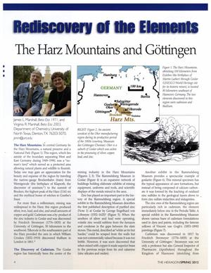 Rediscovery of the Elements: The Harz Mountains and Göttingen