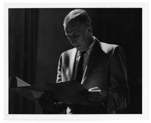 [Photograph of Stan Kenton with a Score]