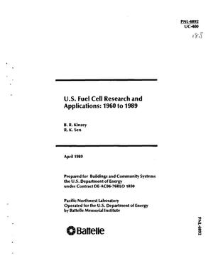 Primary view of object titled 'US fuel cell research and applications, 1960--1989'.