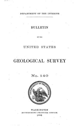 Primary view of Report of Progress of the Division of Hydrography for the Calendar Year 1895