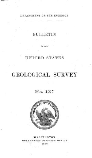 Primary view of object titled 'The Geology of the Fort Riley Military Reservation and Vicinity: Kansas'.