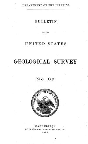 Primary view of Notes of the Geology of North California