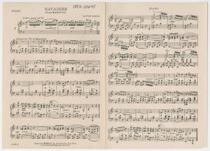 Bayadere: Piano