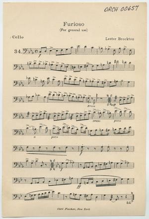 Primary view of Presto: Cello