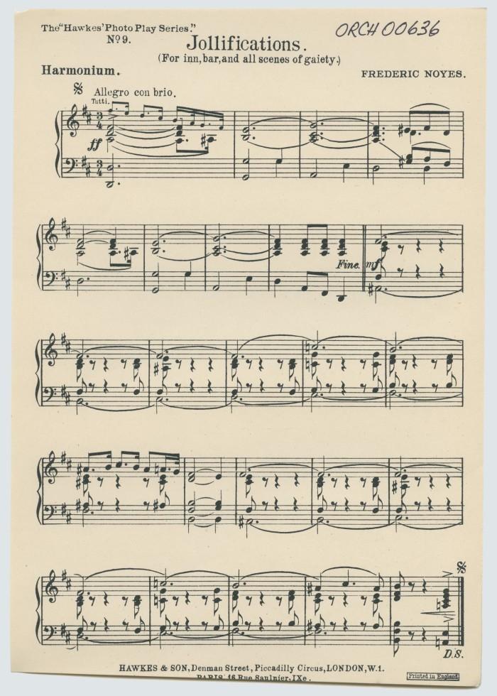 Jollifications: Harmonium - Digital Library