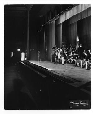 "Primary view of object titled '[Photograph of ""Innovations"" Orchestra]'."