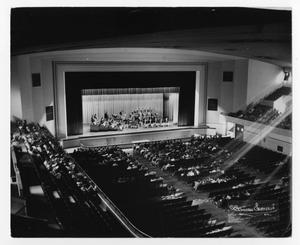 Primary view of object titled '[Photograph of the Stan Kenton Orchestra]'.