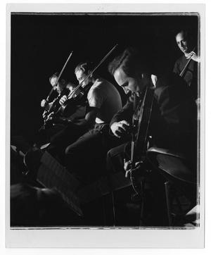 Primary view of object titled '[Photograph of Unidentified Orchestra Members]'.