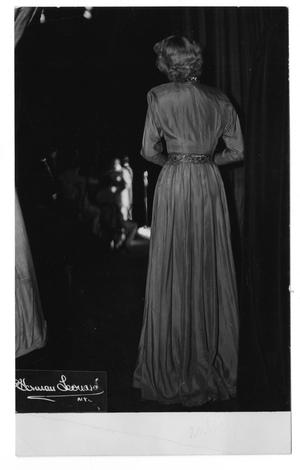 Primary view of object titled '[Photograph of June Christy]'.