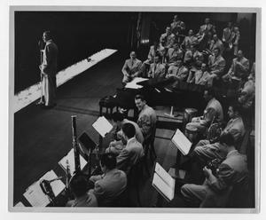 [Photograph of the Stan Kenton Orchestra]