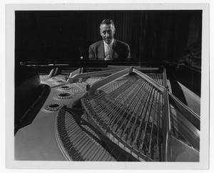 [Photograph of Stan Kenton at the Piano]