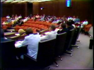 Primary view of [News Clip: Fort Worth Council]