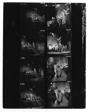 [Sheet of Photographs of Unidentified Orchestra Members]