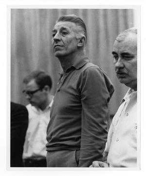 [Photograph of Stan Kenton and Lee Gillette]