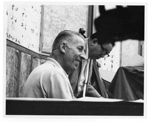 Primary view of object titled '[Photograph of Stan Kenton and Tex Ritter]'.
