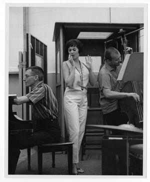 Primary view of object titled '[Photograph of Stan Kenton and Ann Richards]'.