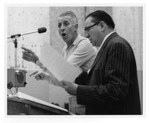 [Photograph of Stan Kenton and Tex Ritter]