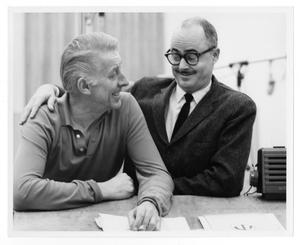 [Photograph of Stan Kenton and Gene Roland]