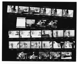 Primary view of object titled '[Sheet of Stan Kenton Photographs and Orchestra]'.