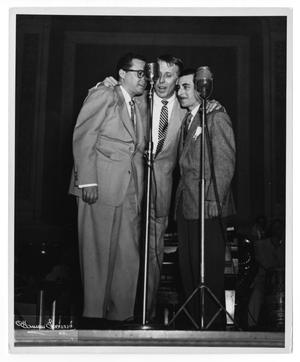 [Photograph of Stan Kenton and Pete Rugolo]