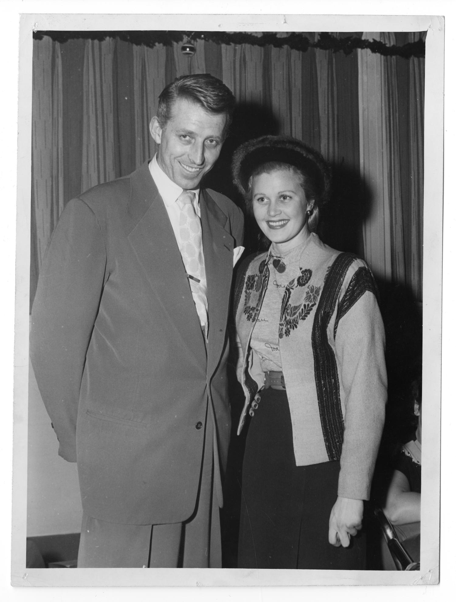 [Photograph of Stan Kenton and Unknown Woman]                                                                                                      [Sequence #]: 1 of 2