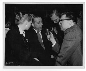 Primary view of object titled '[Photograph of Stan Kenton and June Christy]'.