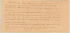 Primary view of object titled '[News Script: Apollo 11]'.