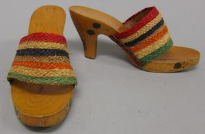 Primary view of object titled 'Beach Clogs'.