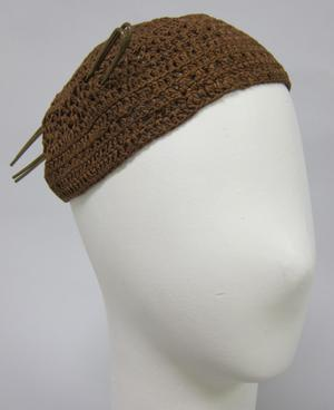 Primary view of object titled 'Crocheted Cap'.