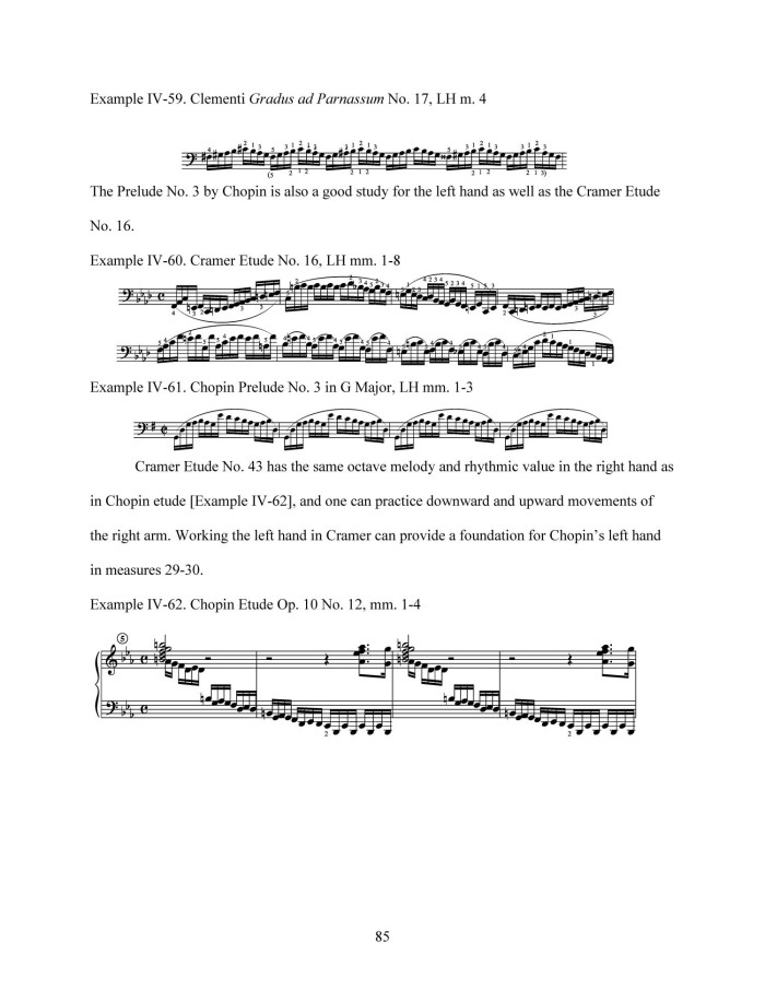 The Chopin Etudes: a Study Guide for Teaching and Learning