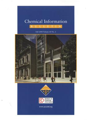 Primary view of object titled 'Chemical Information Bulletin, Volume 60, Number 2, Fall 2008'.