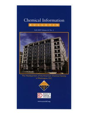 Primary view of object titled 'Chemical Information Bulletin, Volume 61, Number 2, Fall 2009'.