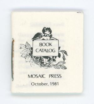 [Miniature book catalog]