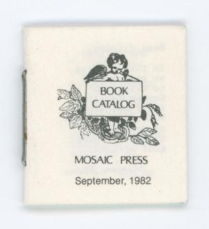 Primary view of object titled '[Miniature book catalog]'.