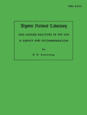 Gas-Cooled Reactors in the USA: A Survey and Recommendation