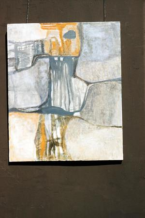 Primary view of object titled '[Mixed medium painting by Claudia Betti]'.