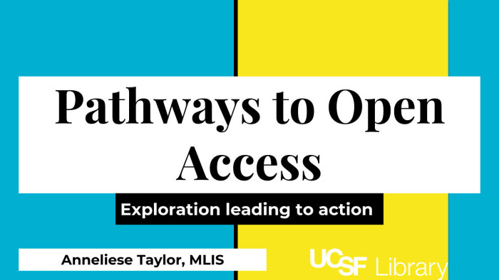 Pathways to Open Access: Exploration leading to action - Digital Library