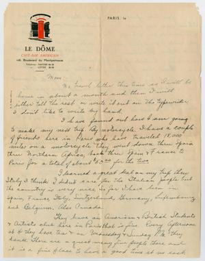 [Letter to Mrs. S. M. Compton]