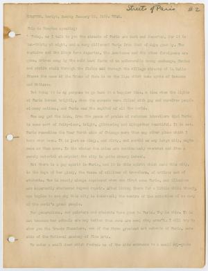 Primary view of [Radio script by Carl B. Compton]